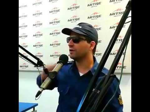 El Oficial Gordillo en Radio Mitre Córdoba