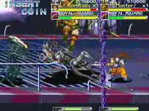 tochiro team alien vs predator arcade movie 2