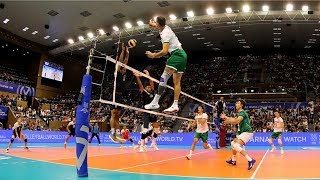 Tsvetan Sokolov | Monster Volleyball Spikes | FIVB OQT 2019 (HD)