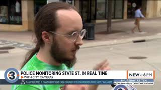 Police target crime on State St. by monitoring city cameras in real time