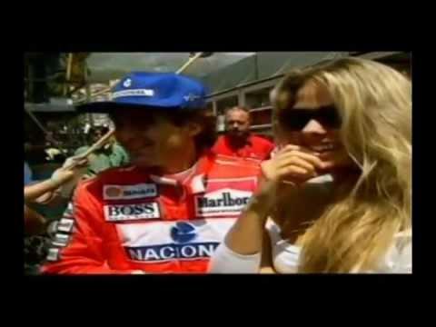 Ayrton Senna Fala Sobre Adriane Galisteu Italia 1994