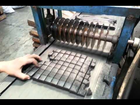 Briquette charcoal factory