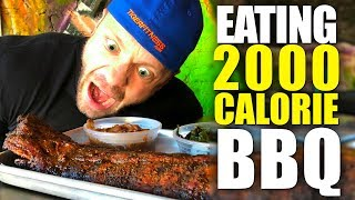 Eating 2,000 Calorie BBQ at Lockdown Smoked Chicago | Tiger Fitness