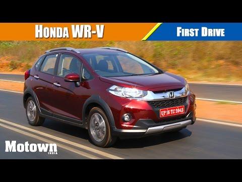 Honda WR-V First Drive