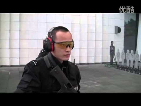上海特警队精彩射击训练 Chinese Shanghai SWAT team gunnery training