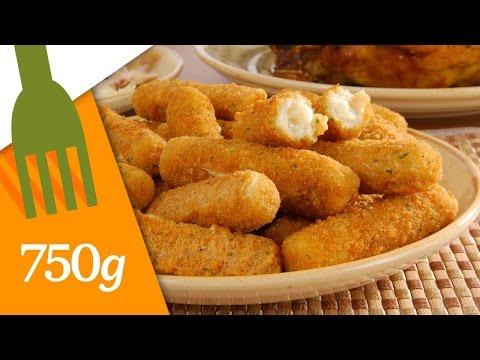Recette de Croquettes jambon-fromage - 750g