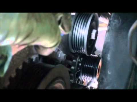 How To Change A Serpentine Drive Belt Ford Focus Youtube