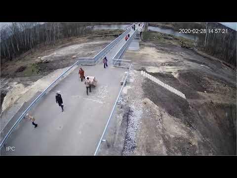 Відновлення мосту у смт Станиця Луганська