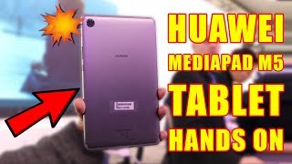 Huawei MediaPad M5, Hands on Review, #GTUMWC2018
