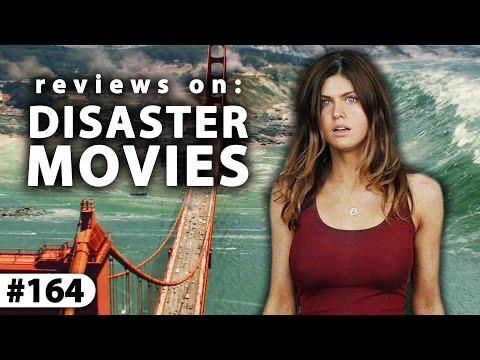 DISASTER MOVIE REVIEWS! -- San Andreas + Dante's Peak + Deep Impact
