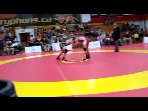 2015 Canada Cup: 61 kg Final Aso Palani (CAN) vs. Michael Asselstine (CAN)