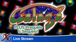 Galaga Arcade PLUS Prequels & Sequels - GenXGrownUp Live