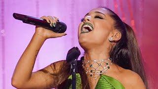 Watch Ariana Grande Stun in First Performance Since Mac Miller