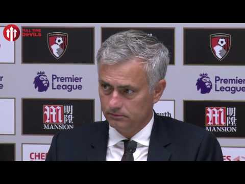 José Mourinho: Were You Still Nervous? | Presser | Bournemouth 1-3 Manchester United