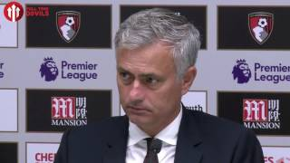 José Mourinho: Were You Still Nervous? | Presser | Bournemouth 1-3 Manchester United