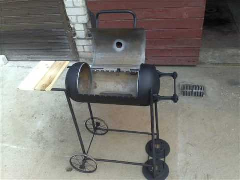 Awesome DIY Homemade Grill Barbecue