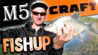 Тест новых приманок FISHUP и М5 CRAFT Микроджиг на реке весной