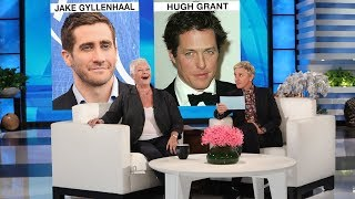 Dame Judi Dench Plays 'Who'd You Rather?' by : TheEllenShow