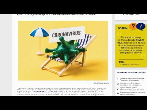 Conso - Voyages annulés, les règles changent