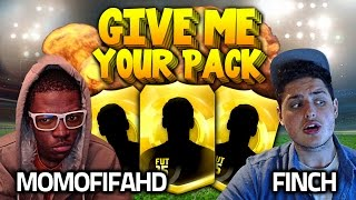 FIFA 15 - GIVE ME YOUR PACK vs FINCH - THE BEST PLAYER IN A PACK YET !!