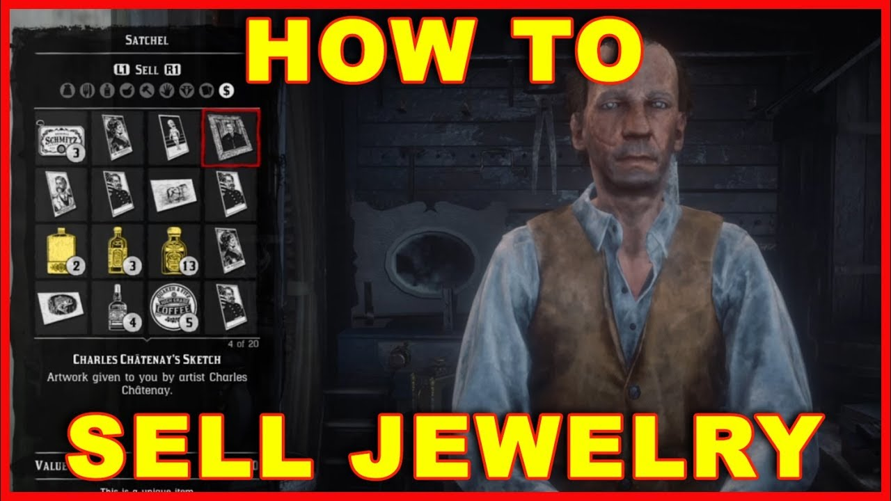 Red Dead Redemption 2 How To Sell Jewelry