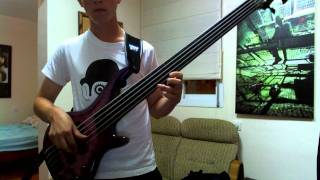 Justice - DANCE (Bass Cover)