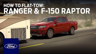 How to Flat-Tow: Ranger and F-150 Raptor | Ford How-To | Ford