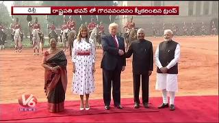 Roundup Of Donald Trump Second Day Tour In India