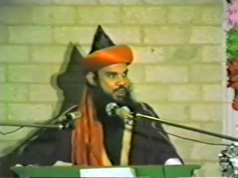 Hazrat syed maulana hashmi mian gives a speech about Imaam Hussain R.A. Part 1