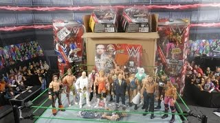 Huge WWE Mattel Figure Vacation Haul | Prototype | Elites | Battle Packs