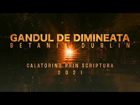 Gandul de dimineata - Exod 19 - MIERCURI - 21.04.2021 - Calatorind prin Scriptura - Betania Dublin