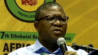 Mbalula throws his weight of support for President Zuma