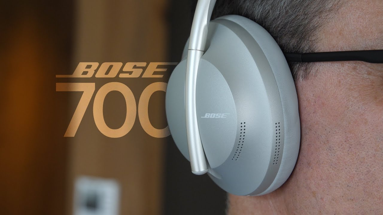 New Bose Noise Cancelling Headphones 700 - First Look - YouTube