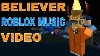 Believer - Roblox Music Video | Jailbreak (Imagine Dragons)
