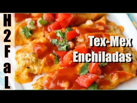 Tex-Mex Cuisine  | HOW TO MAKE AUTHENTIC TEX-MEX ENCHILADAS | How To Feed a Loon