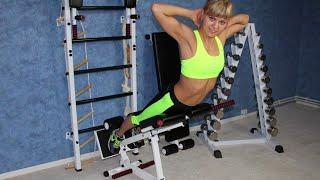 Тренажер для спины и ягодиц - Гиперэкстензия: обратная, угловая и горизонтальная