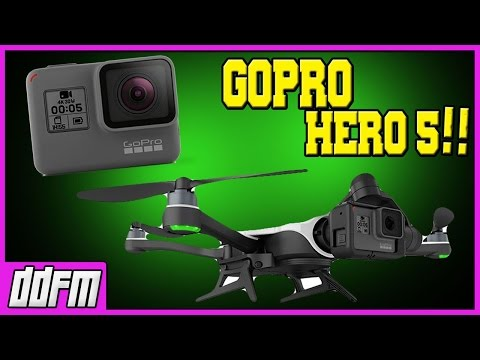 GoPro HERO 5 Black Edition & GoPro KARMA Drone for Motorcycle Videos - My Opinion
