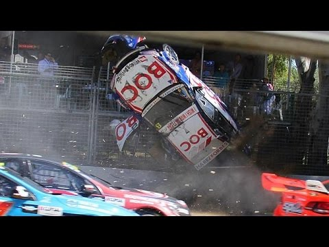 Motorsport Crashes in Super Slow Motion #1 - V8 Supercars
