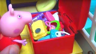 Мультфильм игрушками Свинка Пиги Pig Игра в прятки 2
