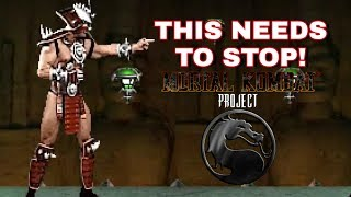 SHAO KHAN IS TOO OP - Mortal Kombat Project Solano Edition - Ermac Arcade Ladder