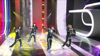 2NE1 - Can't Nobody, 투애니원 - 캔트 노바디, Music Core 20101009