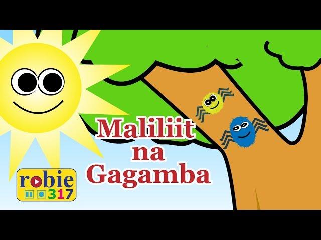 Maliliit Na Gagamba Animated   Awiting Pambata   Itsy Bitsy Spider Tagalog Nursery Rhymes