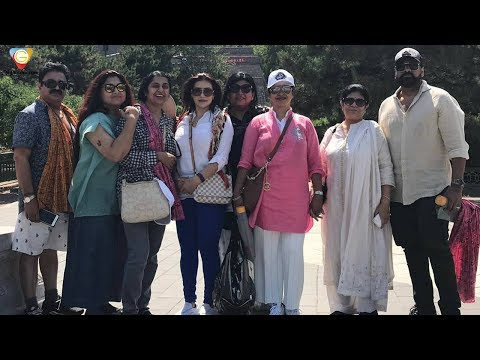 80'S Film Stars Reunion In China | Chiranjeevi | Raadhika | Khushboo | Suhasini | 99gmedia