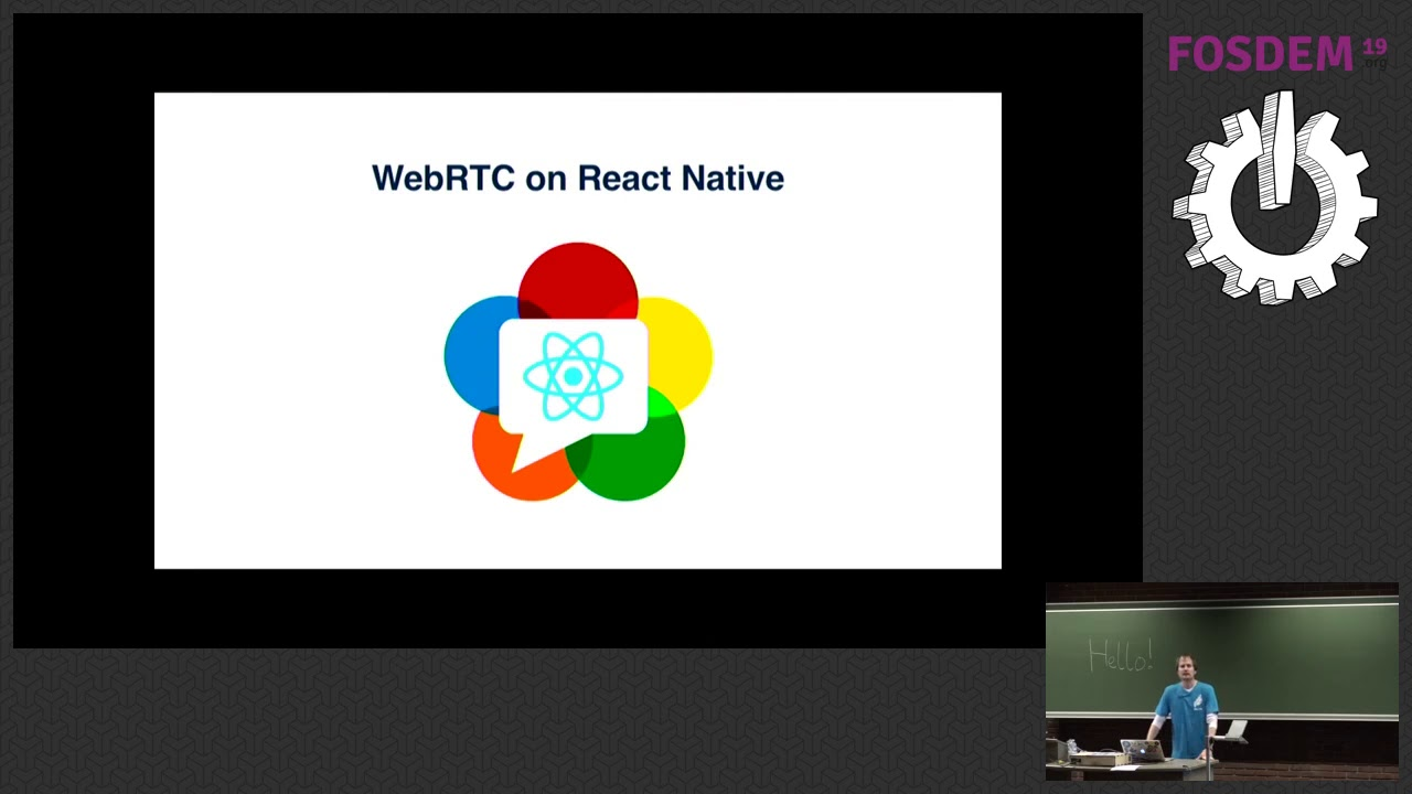 Going mobile with React Native and WebRTC How Jitsi Meet went from web to  mobile, while sharing mos…