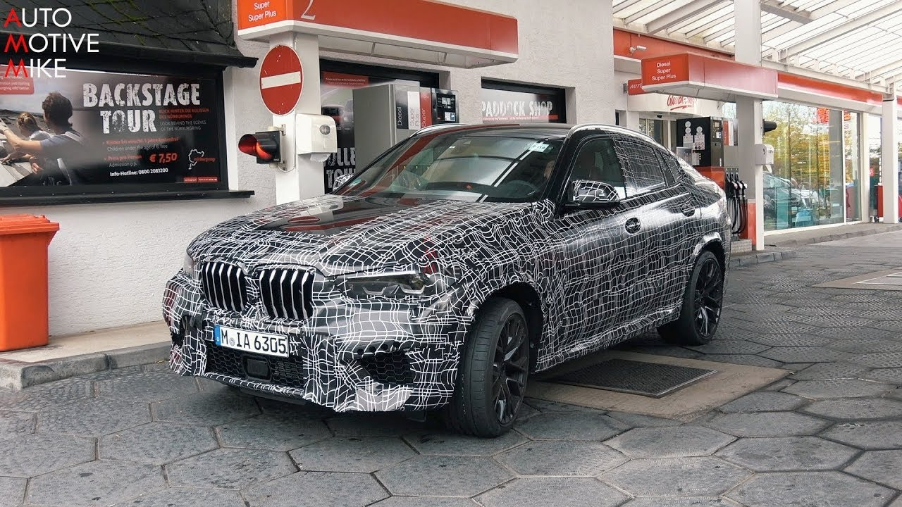 2020 Bmw X6 M Spied Testing At The Nurburgring Youtube
