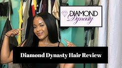 Diamond Dynasty Virgin Hair| Filipino Straight Hair Review