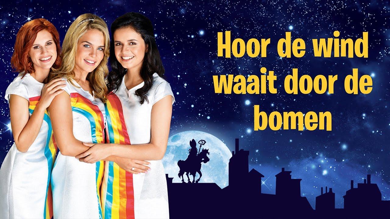 Sinterklaasliedje Hoor De Wind Waait Door De Bomen K3 Youtube