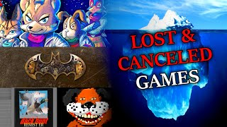 The Lost and Canceled Video Games Iceberg: Explained