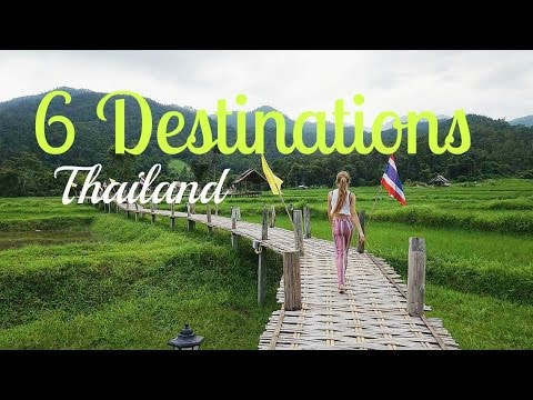 6 DESTINATIONS IN THAILAND YOU MUST SEE ! [ North Thailand ] + FREE GLASSES FOR YOU