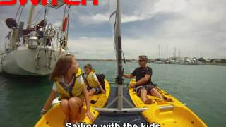 Switch - catamaran sailing kayaks